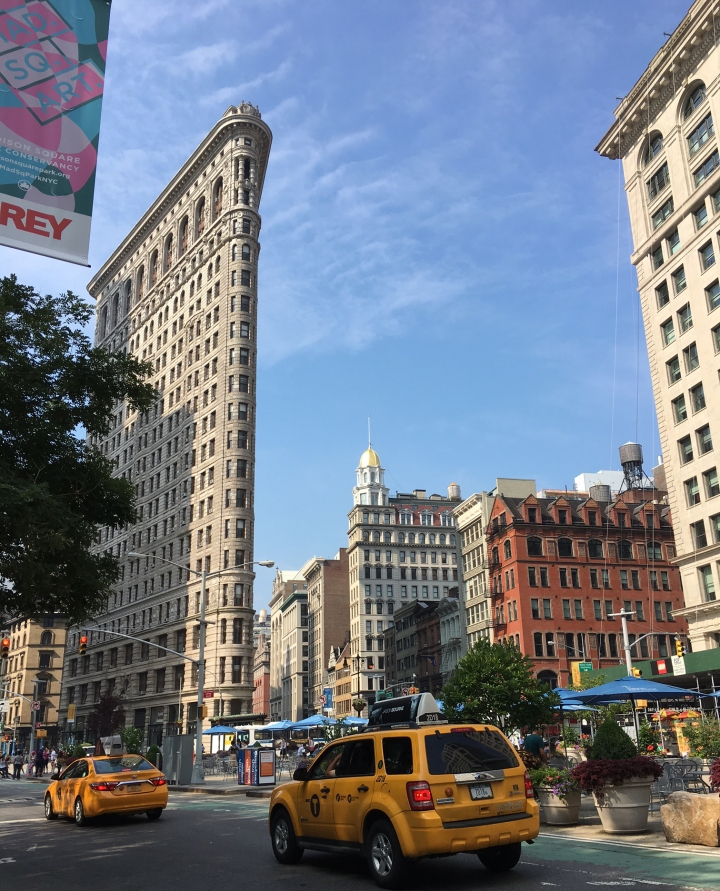 Flatiron Building, New York.