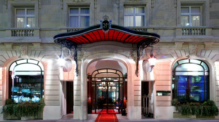 Le Royal Monceau, Paris.